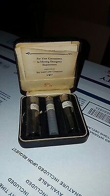 Reduced 1800 Eli Lilly Antique   Pulvules Sodium Amytal Original Case Labels