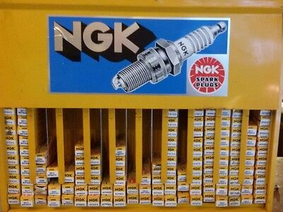 Ngk Spark Plug Rack (Without Spark Plugs)! Workshop Shop