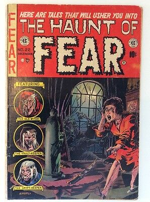 The Haunt Of Fear 22 De 1953 Ec Comics Ingels Ghastly Cover 3.0