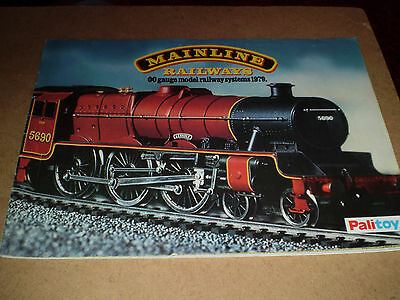 Mainline Model Railways Toy Catalogue 1979 Uk Edition Excellent For Age