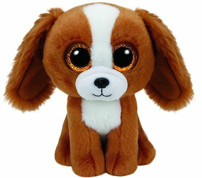 """NEW Ty Beanie Boo Tala the Brown Spaniel Dog 6"""" Plush Collectible Soft Toy Gift"""