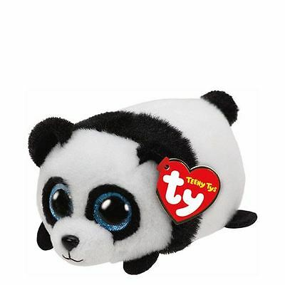 NEW Ty Beanie Teeny Tys Puck the Panda Plush Collectible Soft Toy Gift