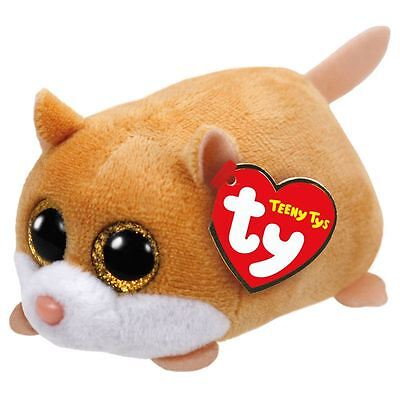 NEW Ty Beanie Teeny Tys PeeWee the Hamster Plush Collectible Soft Toy Gift