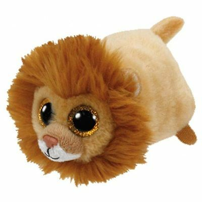 NEW Ty Beanie Teeny Tys Regal the Brown Lion Plush Collectible Soft Toy Gift