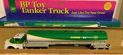 BP Toy Tanker Truck 1994 Limited Edition Super 93 Fuel w/box NIB