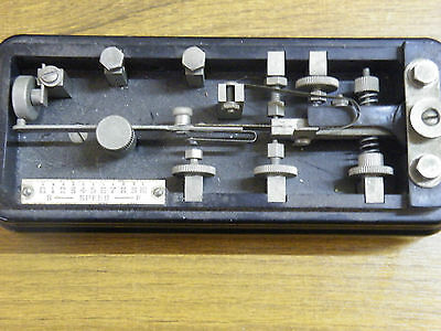 Hi-Mound MORSE KEY Model BK-100 TELEGRAPH KEY