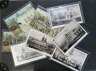 British Franco Exhibition 1908 ~~ 10 Different Postcards
