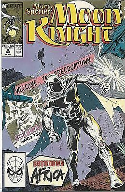 Marc Spector: Moon Knight #3 (Aug 1989, Marvel)