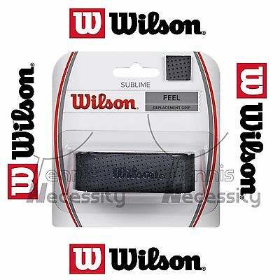 Wilson Black Sublime Feel Replacement Grip Tape Tennis Squash Racket Racquet