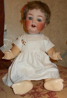 Pretty 22 Inch Heubach  Mold 342 Character Baby.
