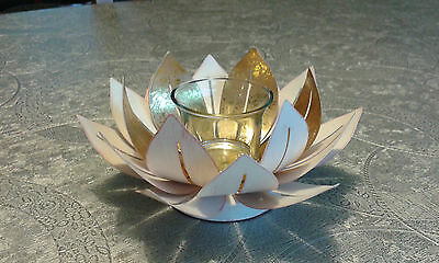 PARTYLITE porte lampion ou bougie réchaud lotus