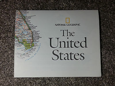 National Geographic Map of The United States October 2006