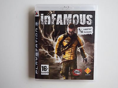 Infamous on PS3 in NEAR MINT Condition