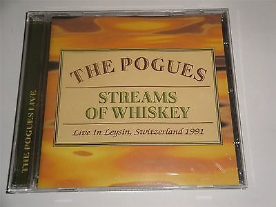 The Pogues - Streams of Whiskey (Live in Leysin, Switzerland) 1991 CD Album