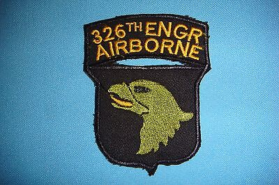 BERET PATCH, US 326th ENGINEER BATTALION -101st  AIRBORNE DIVISION
