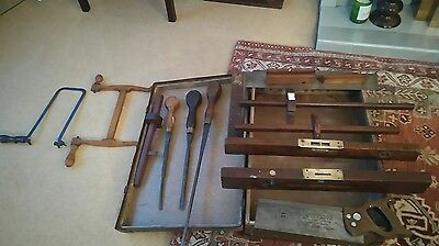A lot of wood working tools check out photos very collectable