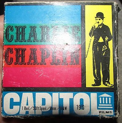 Charlie Chaplin Super 8 Charlie In The Police BW Capitol
