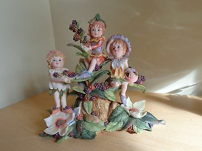 Regency Fine Arts Rare Fantasy Piece of Three Fairies in a Group