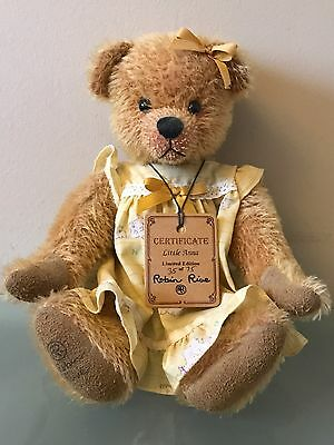 ROBIN RIVE LIMITED EDITION - Little Anna Collectors Bear 35 Of 75.