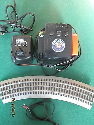 Lionel 'O' Gauge Power Control Transformer + Converter + Connector Rail Tested