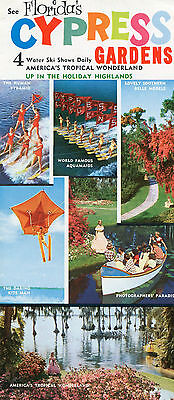 1960's Florida's Cypree Gardens Travel Brochure
