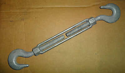 "1/2"" x 6"" Hook and Hook Turnbuckle Forged $9.85 each piece.  Packed 2 per box"