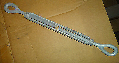 "1/2"" x 9"" Eye and Eye Turnbuckle Forged $13.95 each. Packed two per box."