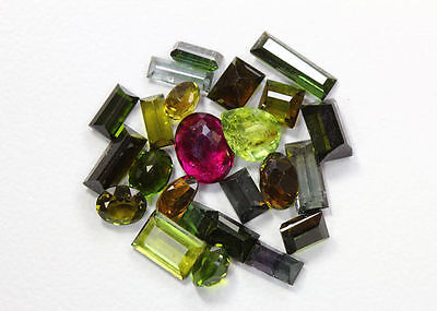 16.84 Cts_Unbelievable !!! Sale Price Lot_100 % Natural Tourmaline_Africa