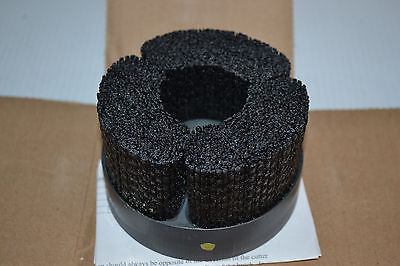 """NEW Weiler 4"""" Nylox Disc Brush 2009WEILES09051 80 Grit"""