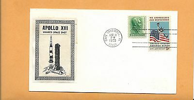 Apollo Xiii Manned Space Shot Apr 11,1970 Cape Canaveral