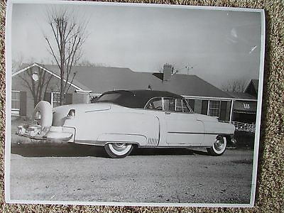 Hank Williams Sr. Cadillac Parked in Front Of His House 8x10 Photograph