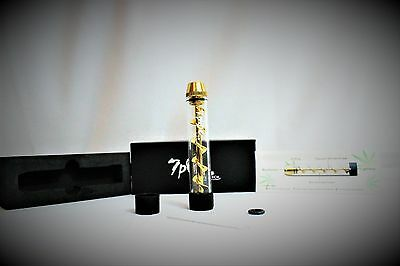 7Pipe Twisty Glass (Gold) Free Shipping