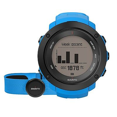 Suunto Ambit3 Vertical Blue (HR) Multisport GPS Heart Rate Watches SS021968000