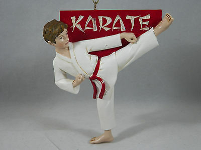 Karate Boy Christmas Tree Ornament new holiday sports