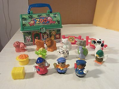 Fisher Price Little People Zoo Animals Lot