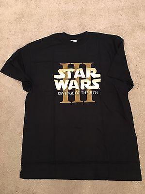Star Wars Episode 3 Revenge of the Sith Promotional T-shirt Size Medium