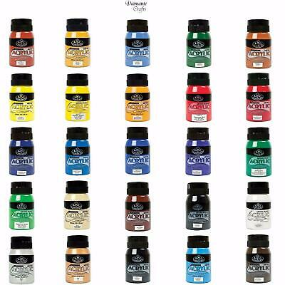Royal & Langnickel  500ml Essentials Tubs Acrylic Paint Jars - 27 Colours