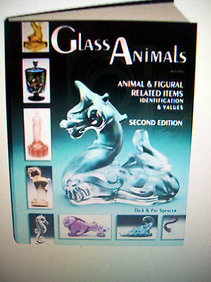 GLASS ANIMALS Price Guide Collector's BOOK Horse Swan Hen Duck Dog