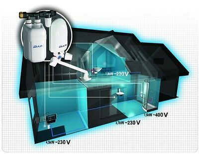 Electric Water Heater DAFI 7,5 - 11 kW 400 V tankless & compact - under sink