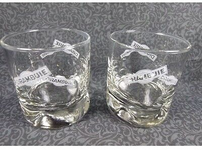 DRAMBUIE Cordial Glasses  Set Of FOUR(4) Glasses. REDUCED HOLIDAY PRICE