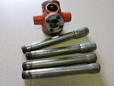 Ridgid 31-A Three Way Pipe Threader With 3 Dies 1/2 3/4 1 With Handles