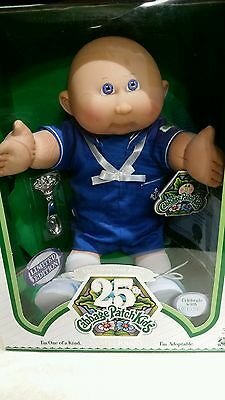 Cabbage Patch Kids 25th Anniversary Limited Edition Boy In Navy Suit