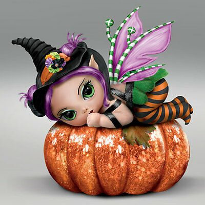 Pun Kin Pixie  - A Fairy Sweet Spell Ashton Drake Jasmine Becket Griffith