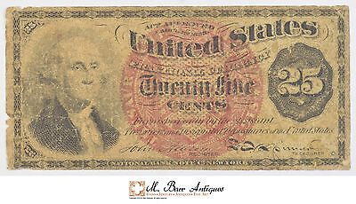1869-1875 Twenty-Five Cents 4th Issue Fractional Currency *716