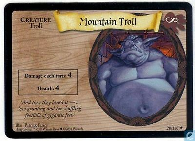 Harry Potter TCG Base Set Mountain Troll 28/116