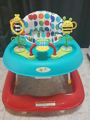 Baby Walker With Play Centre & 3 Height Levels