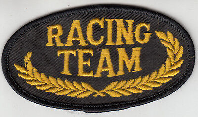 Racing Team Embroidered Patch