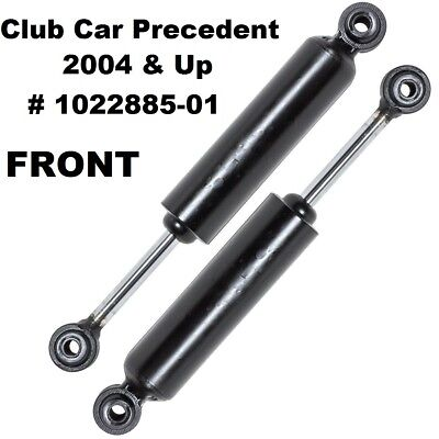 2 Club Car Precedent 2004 & Up Front Shock Absorbers Gas Electric Golf Cart