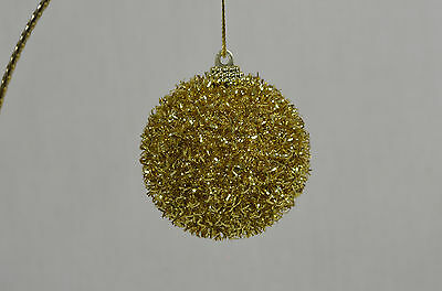 Gold Tassel Ball Christmas Tree Ornament new winter holiday decorations
