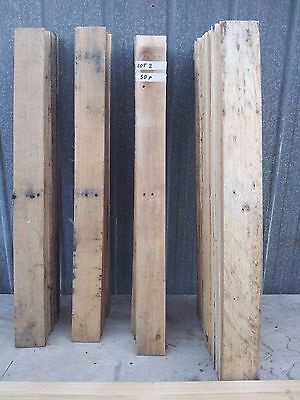 Timber planks recycled